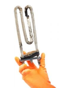 Hard Water on Heating Element