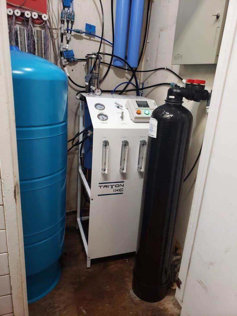 The Saticoy Club, Advanced Water install