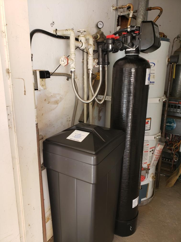 water system, water system installation, water treatment