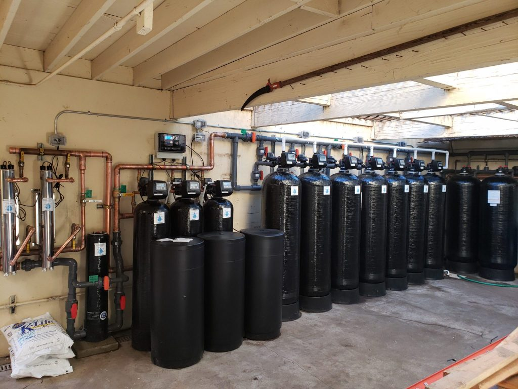 large scale installation, water system installation, water system