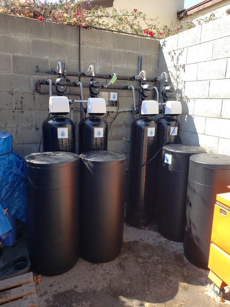 Glenwood Care Center, California, water treatment, water system installation