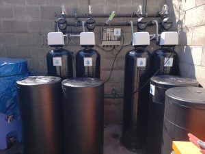 water treatment install, water treatment, Glenwood Care Center
