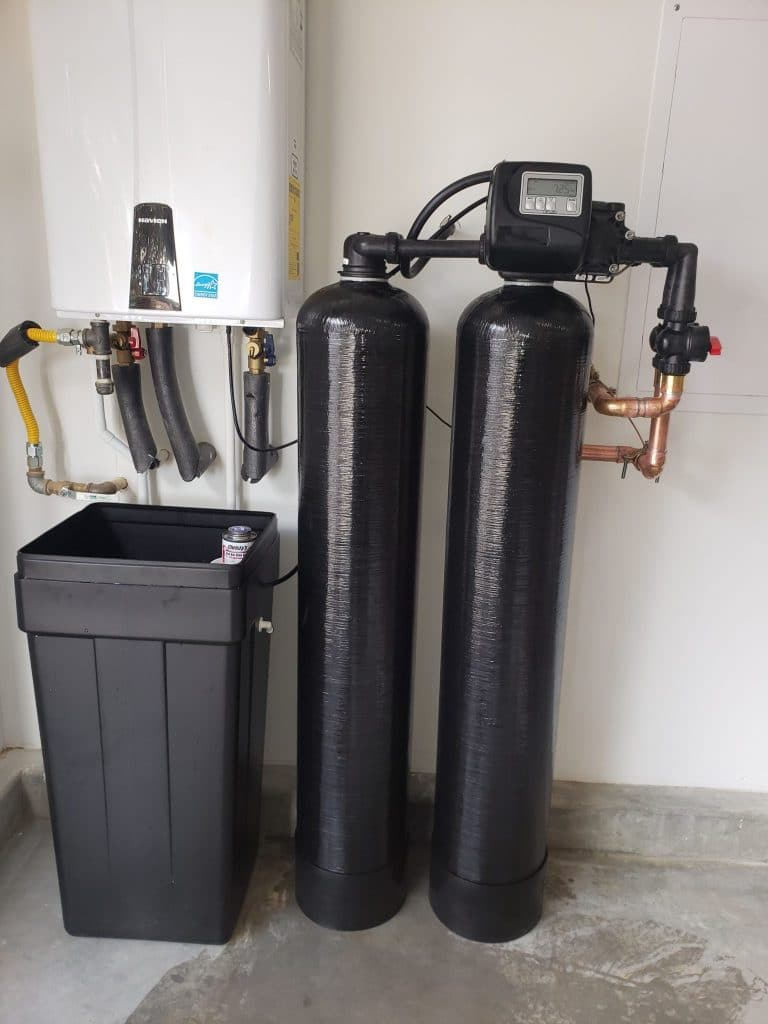 water treatment solution, install, Advanced Water Solutions, January 2020