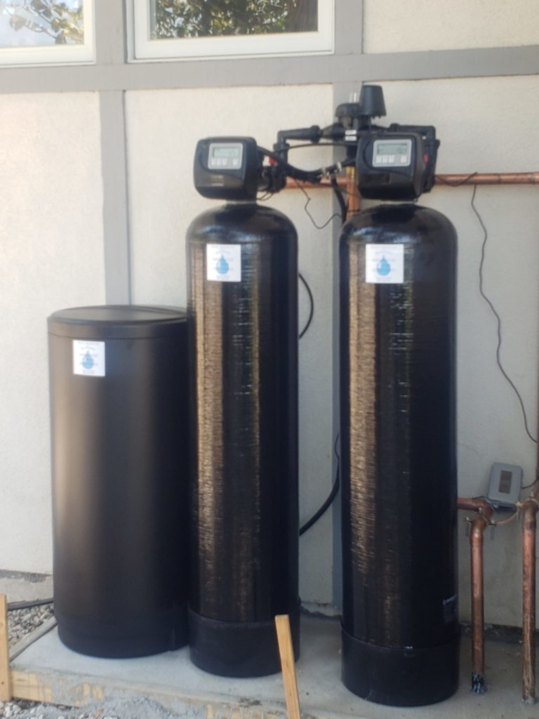 water softener installation by Advanced Water Solutions