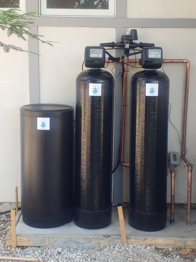 whole home water softening system